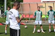 Peter Petráš ako tréner Tatrana Prešov.