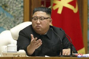 Vodca KĽDR Kim Čong-un.