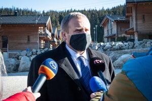 Jasnú navštívil koncom októbra aj Vladimír Ledecký,