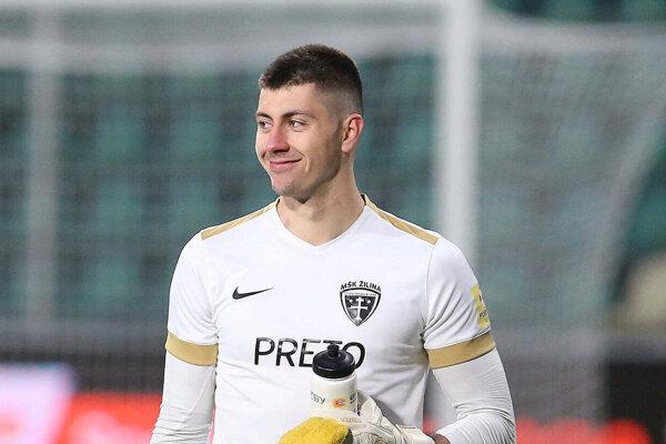Samuel Petráš podržal svojich spoluhráčov fantastickými zákrokmi.