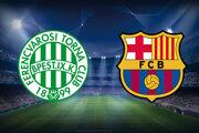 Sledujte futbal Ferencváros Budapešť - FC Barcelona, Liga majstrov LIVE stream dnes.