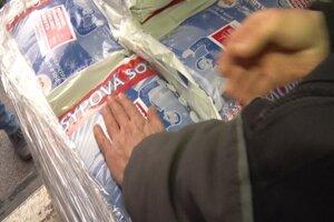 Mesto Spišská Nová Ves zabezpečilo 8 ton posypovej soli.
