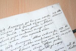 V Kronike Lekýrskeho opátstva je ako prvý spomínaný rok 1319.