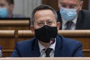 Opozičný poslanec Ladislav Kamenický (Smer-SD).