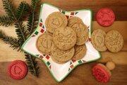 Pečiatkové sušienky s orechami