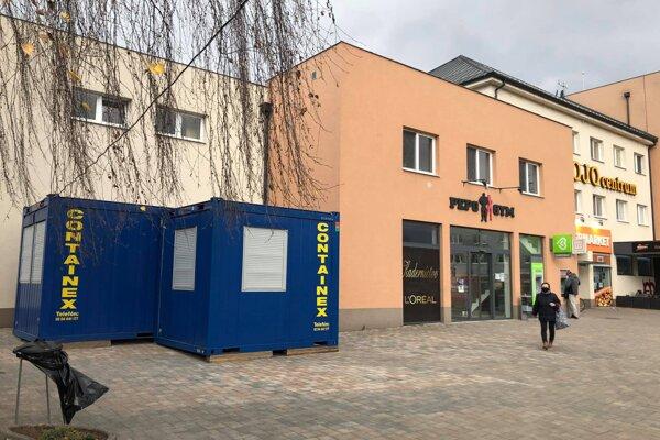 Nové mobilné odberové miesto v Považskej Bystrici - Kolónia