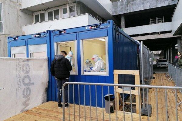 Odberové miesto zriadili aj pri Detskej fakultnej nemocnici s poliklinikou