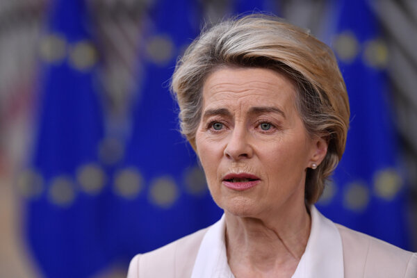 Predsedníčka EK Ursula von der Leyenová.