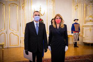 Prezidentka Zuzana Čaputová počas príhovoru po vymenovaní Maroša Žilinku za nového generálneho prokurátora.