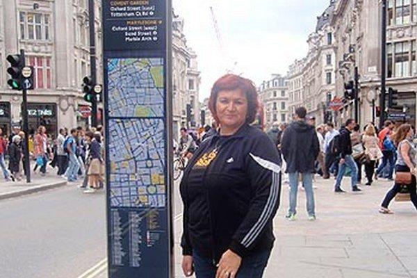 Iveta Matejová strávila necelé tri dni v hlavnom meste Anglicka. Krásny výlet jej pripravila spoločnosť Goal Travel.