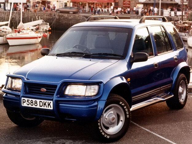 Kia Sportage prvej generácie vo verzii Karmann Sport vyrobená v Nemecku.