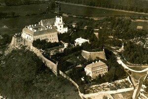 Veľprepoštský palác pred vojnou.