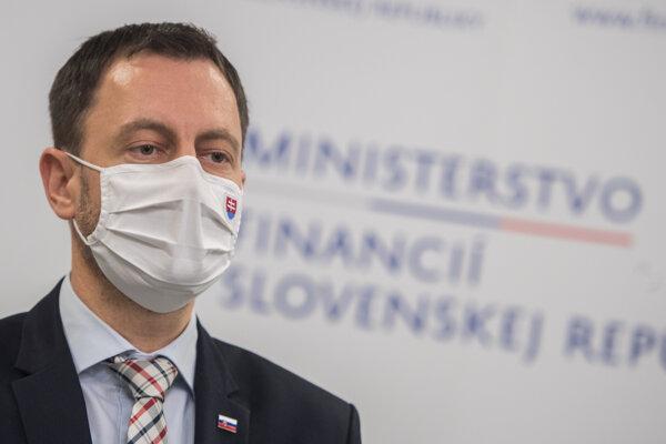 Minister financií Eduard Heger (OĽaNO).
