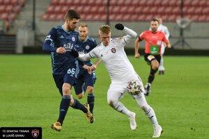 Momentka zo zápasu Spartak Trnava - Slovan Bratislava