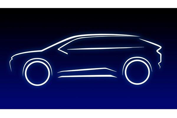 Silueta prvej čisto elektrickej Toyoty