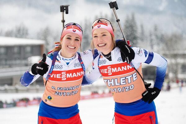 Paulína Fialková (vľavo), Ivona Fialková.