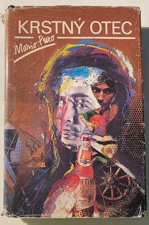 Krstný otec - Mario Puzo, vydanie z roku 1990.