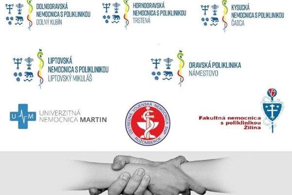 Tieto zdravotnícke zariadenia a úrad podpísali vyhlásenie.