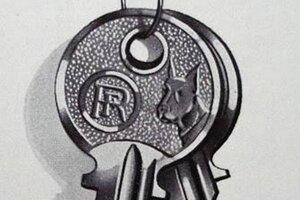Doga, priateľ a strážca človeka, bola dlhé roky logom svetoznámej českej firmy vyrábajúcej kľúče a zámky.