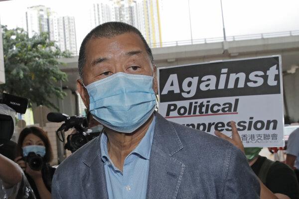 Mediálny magnát Jimmy Lai.
