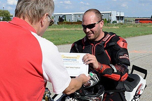 Tomáš Pauliček stanovil slovenský rekord.