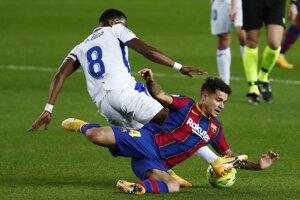 Philippe Coutinho v zápase proti Eibaru.