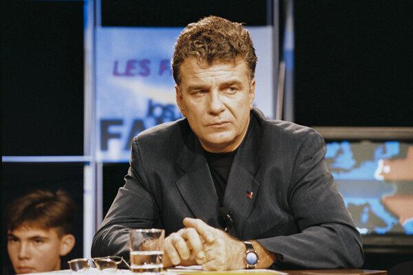 Olivier Duhamel, keď bol koncom 90. rokov poslancom Európskeho parlamentu.