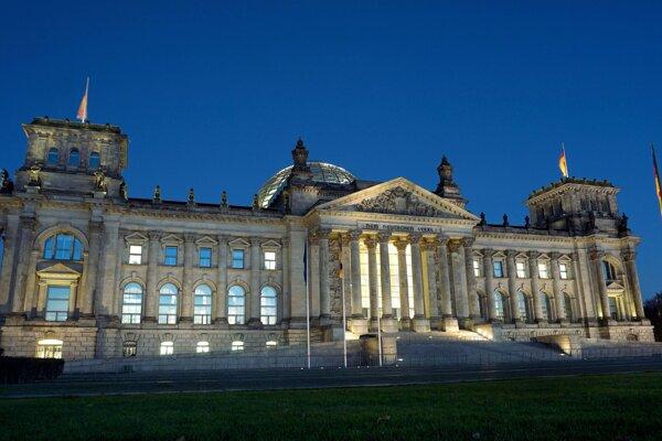 Bundestag. Ilustračná fotografia.