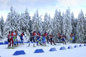 Mix dvojíc Svetového pohára v biatlone v nemeckom Oberhofe.