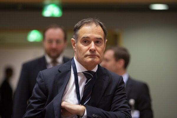 Šéf Frontextu Fabrice Leggeri.
