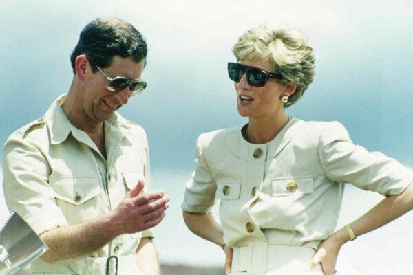 Princezná Diana a princ Charles v roku 1991