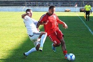 V stretnutí Topoľčian so Sereďou padol jediný gól, jeho autorom bol Miroslav Kasaj.