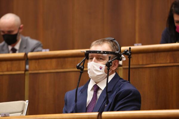 Predseda parlamentu Boris Kollár (Sme rodina)