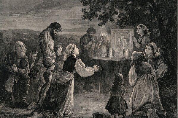 Ľudia sa prirodzene báli cholery, ktorá vyčíňala v 19. storočí. Nechápali zmysel hygienických opatrení, ľahko uverili fámam, že za všetkým je sprisahanie pánov, úradníkov, lekárov a lekárnikov - aj krčmárov.