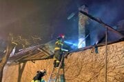 Zásah hasičov v Jasove.