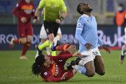 Zápas Lazio Rím - AS Rím.