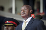 Ugandský prezident Yoweri Museveni.