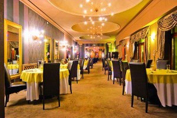 Reštaurácia v hoteli Capital.