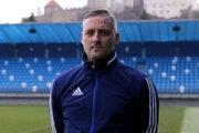 Tréner Nitry Michal Ščasný.
