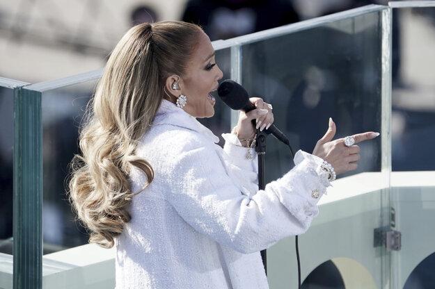 Na inaugurácii zaspievala aj Jennifer Lopeová.