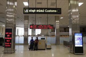 Medzinárodné letisko Katunayake v srílanskom meste Colombo.