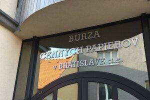 Burza cenných papierov v Bratislave