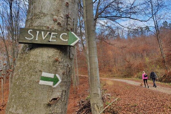 Túra na Sivec je vhodnejšia, keď je sucho.