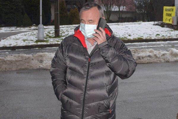 Ján Danko, primátor Martina počas testovania na Kolónii Hviezda.