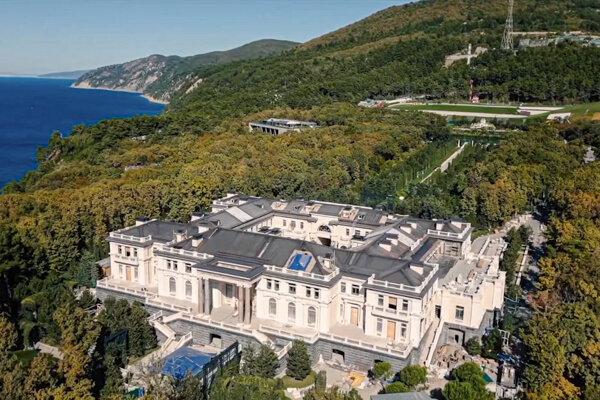 Luxusné sídlo na pobreží Čierneho mora.