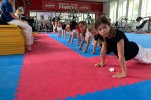 Tréning detí.