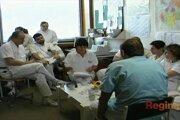 Vtedajší transplantačný tím