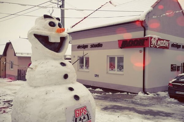 Olafov úsmev vzbudzuje dobrú náladu.