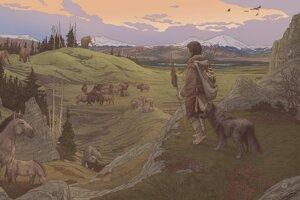 Prvých osadníkov v Amerike sprevádzali ich psy.