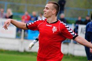 Adam Morong strelil druhý gól Serede do siete Vrbového.